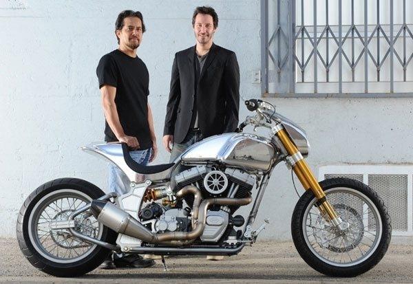 Киану Ривз занялся производством мотоциклов