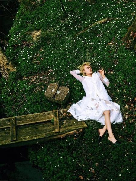 Николь Грегори в чарующем фотосете для Elle Poland