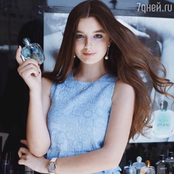 Дочка Екатерины Стриженовой стала моделью