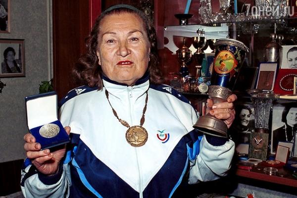 Умерла первая олимпийская чемпионка