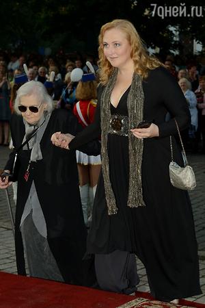 Юлия Ауг исполнила мечту 85-летней мамы