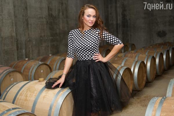 Мария Берсенева побывала на донских виноградниках