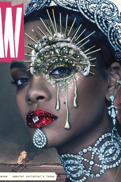 Рианна позирует в безумном фотосете для W Magazine