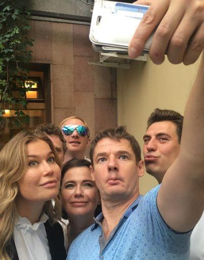 Паулина Андреева вышла на работу после отпуска с Бондарчуком