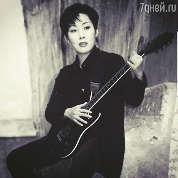 Анита Цой показала уникальное фото