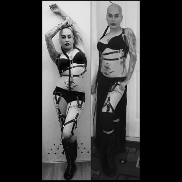 Наргиз Закирова создала садо-мазо образ из нижнего белья и портупеи