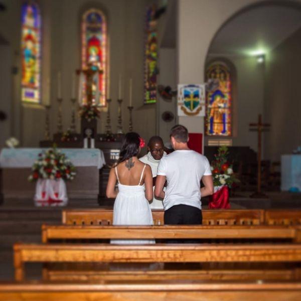 Катя Жужа поделилась первым свадебным снимком