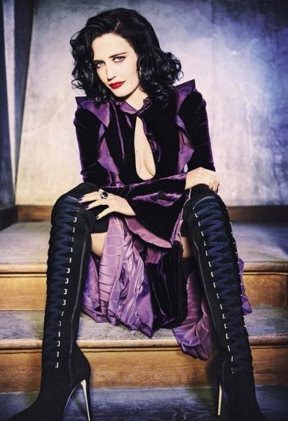 Ева Грин появилась на обложке Glamour