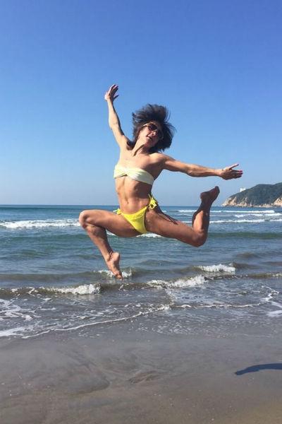 «Бабушка» гимнастики Оксана Чусовитина блистает в Рио ради Тома Круза
