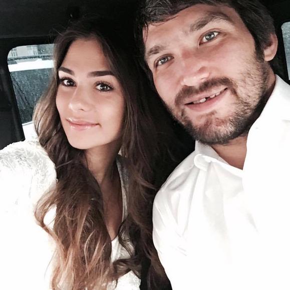 Александр Овечкин и Анастасия Шубская обвенчались