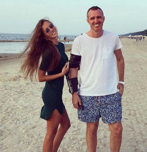 Игорь Верник вернулся к бывшей девушке