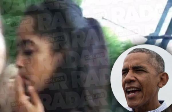 Малия Обама курила марихуану