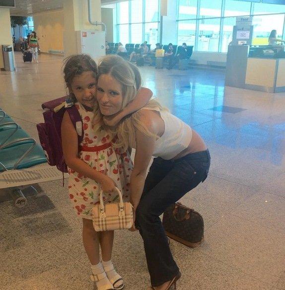 Бывший муж Даны Борисовой пытается отобрать у неё ребенка