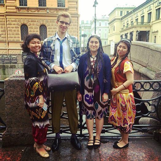Поймали! Сын Ефремова замечен в Петербурге с бывшей женой