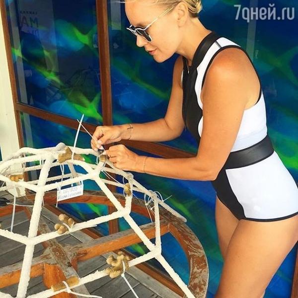 Елена Летучая решила выращивать в кораллы