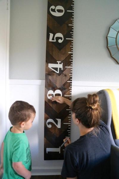 Как сделать линейку для измерения роста