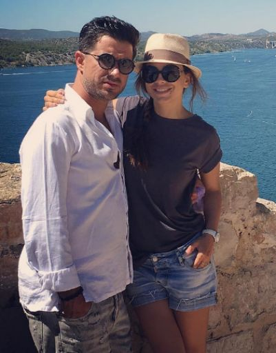 Ани Лорак отпраздновала годовщину свадьбы на море