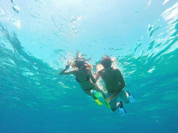 Хайди Клум подарила молодому любовнику романтические каникулы на Ямайке