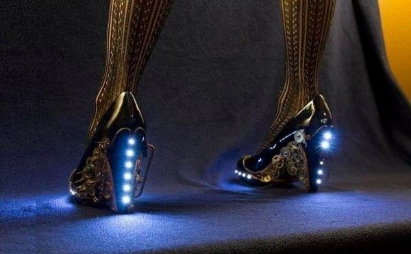 Странная мода: туфли в стиле стимпанк