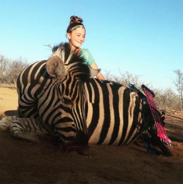 12-летняя охотница вызвала шок у пользователей Сети