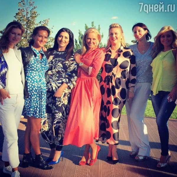 Татьяна Навка с размахом отпраздновала день рождения маленькой дочки