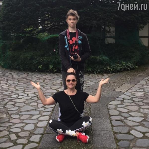 Наташа Королева забрала 14-летнего сына из Америки