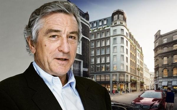 Роберт Де Ниро строит бутик-отель в центре Лондона