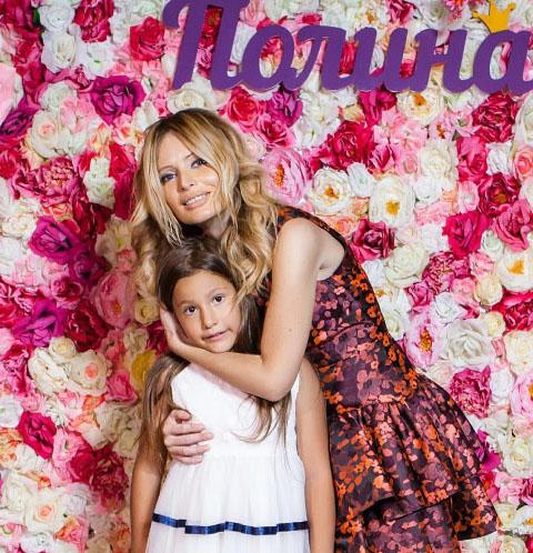 Дочь Даны Борисовой отпраздновала день рождения без отца