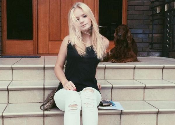 Дочь Дмитрия Пескова показала фигуру в купальнике