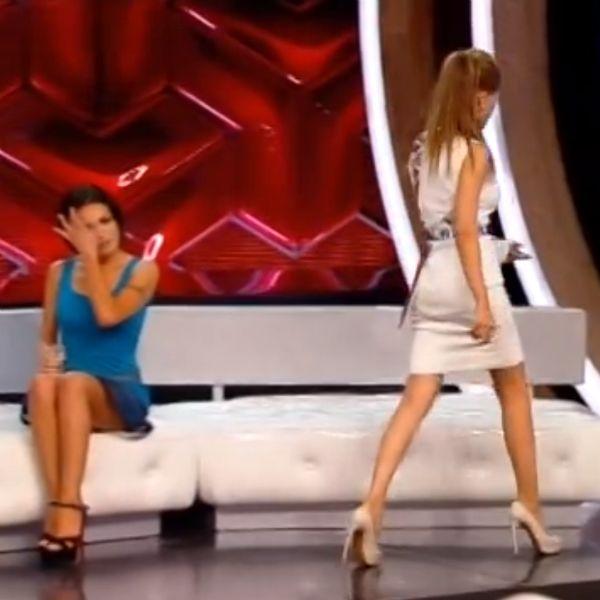 Анна Калашникова встретилась лицом к лицу с соперницей