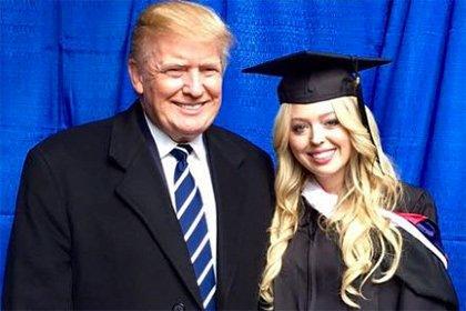 В сеть попали шокирующие фото дочери Дональда Трампа без капли макияжа