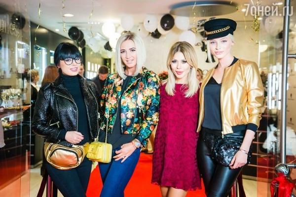 Ксения Бородина и Ольга Бузова встретились в салоне красоты