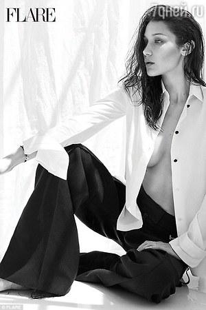 Супермодель Белла Хадид не стесняется своего прекрасного тела