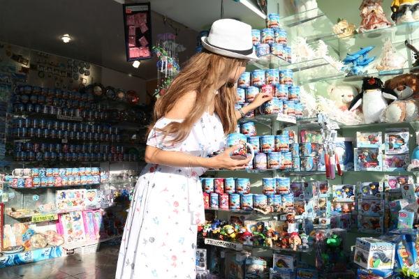 Анна Калашникова устроила бэби-шопинг в Сочи