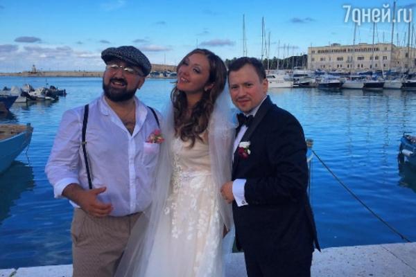 Андрей Гайдулян сыграл свадьбу в Италии