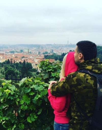 Дарья и Сергей Пынзарь отправились в романтический вояж