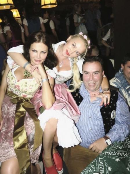 Елена Галицына провела незабываемые дни на Октоберфест 2016