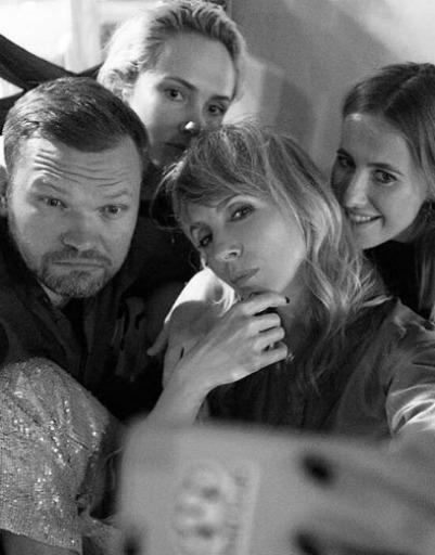 Светлана Бондарчук и Паулина Андреева столкнулись на премьере «Дуэлянта»