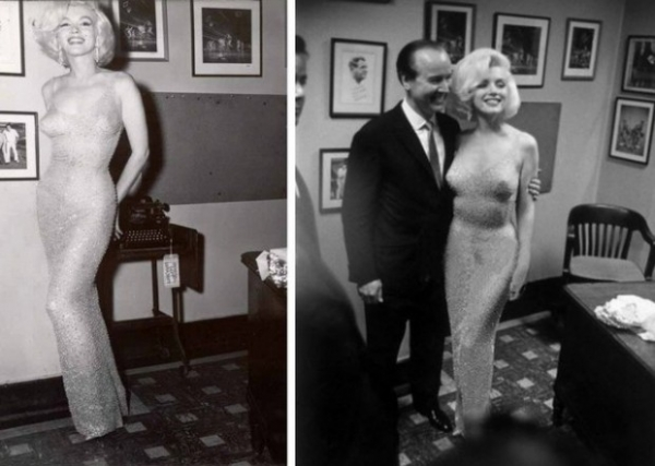Платье, в котором Мэрилин Монро пела «Happy Birthday» президенту, выставлено на аукцион