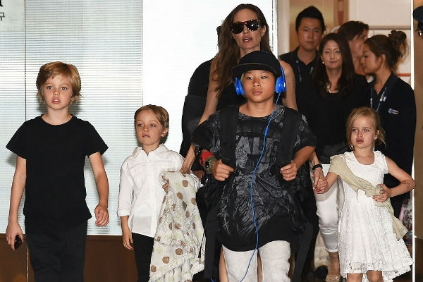 Анджелина Джоли и Брэд Питт сели за стол переговоров