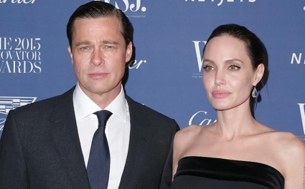 Питт прокомментировал развод с Джоли