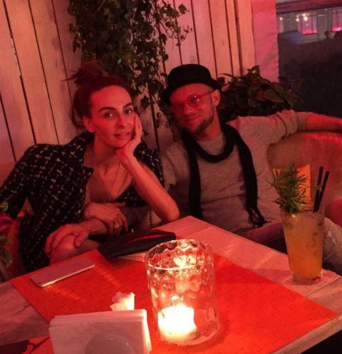 Екатерина Варнава провела вечер в компании экс-возлюбленного