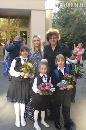 Ксения Бородина отправила дочку в первый класс