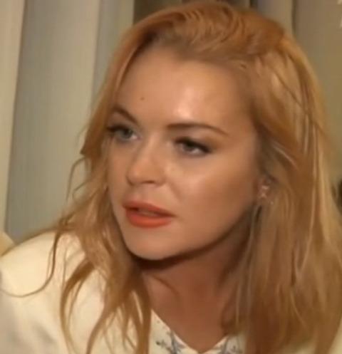 Линдси Лохан в эфире у Андрея Малахова