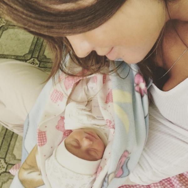 Алекса о ребенке: «Вот оно счастье!»