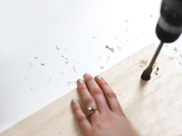 Как сделать стильный настенный органайзер своими руками