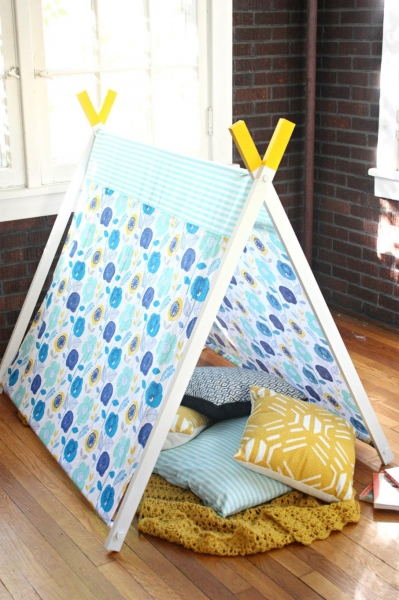 Как сделать детский шатер своими руками