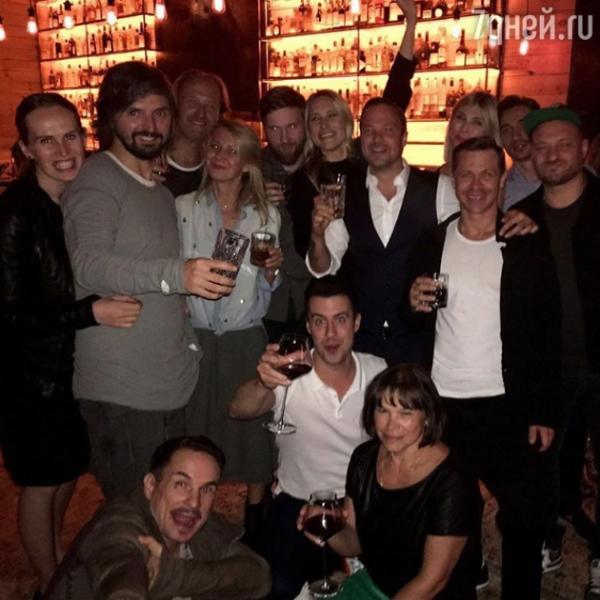 Алексей Чадов собрал друзей на праздновании 35-летия