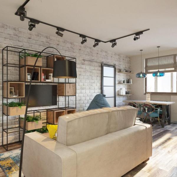 Как грамотно зонировать квартиру-студию. Советы дизайнера