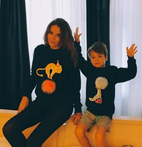 Сын Айзы Анохиной покоряет мир моды